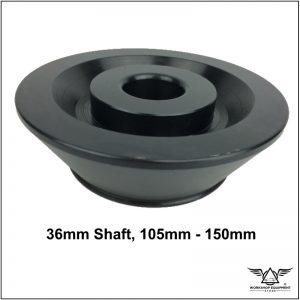 Wheel Balancer Cone 36mm shaft, 105mm - 150mm