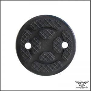 Hoist round rubber pad