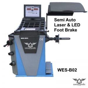 Wheel Balancer Model : WES-B02