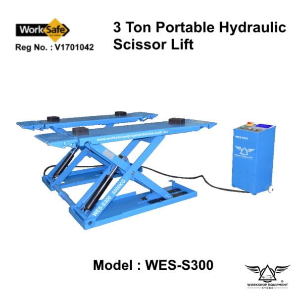 hydraulic-scissor-lift-portable-WES-S300