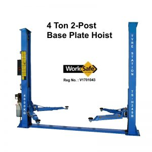 2-Post 4 Ton Base Plate Hoist Model: TS-H240B