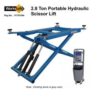 2.8 Ton Portable Hydraulic Scissor Lift: TS-S280