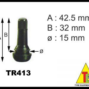 Tubeless Valve TR413