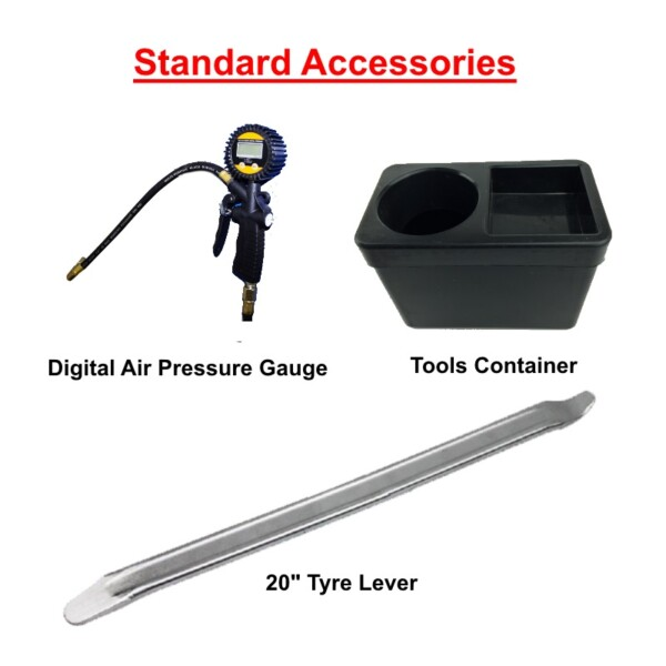Tools Container and Tyre Lever