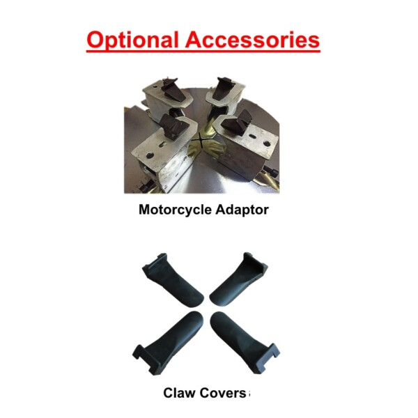 Motorcycle Adaptor and Claw Covers