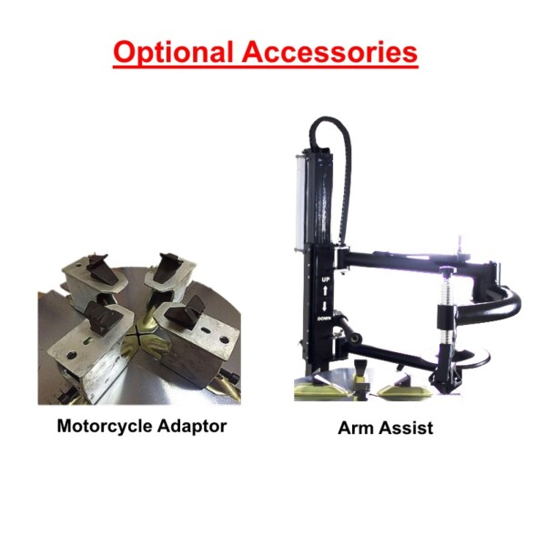 Motorcycle Adaptor and Arm Assist