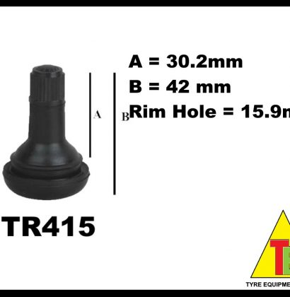 Tubeless(Fat) Valve TR415